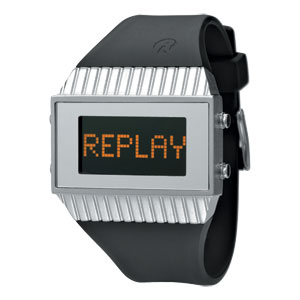 Replay Speed - Horloge  27 x 46 mm Zwart/Grijs RWRH5102AND