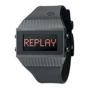 Replay Speed - Horloge 27 x 46 mm zwart RWRH7102NND