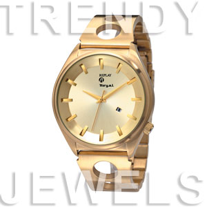Replay Royal - Horloge 58 mm goud RWRM3303FH