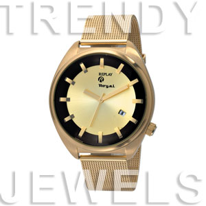 Replay Royal - Horloge 44 mm goud RWRM3304FH