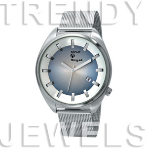 Replay Royal - Horloge 44 mm zilver RWRM5304DH