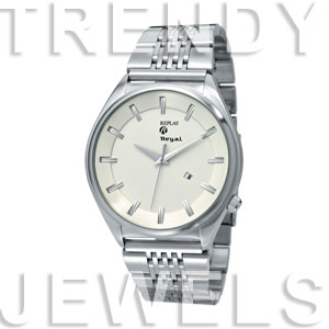 Replay Royal - Horloge 48 mm zilver/wit RWRM5306BH