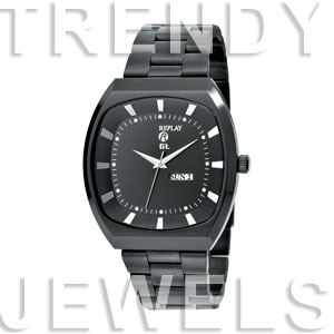 Replay GT - Horloge 46 mm zwart RWRM7604NH