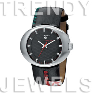 Replay Torpedo - Horloge 40 mm zwart RWRW5201NB