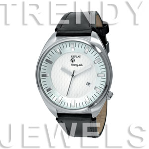 Replay Royal - Horloge 48 mm bruin/zilver RWRX5303AH