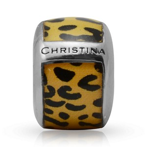 Endless Enamel Yellow Leopard Charm 22103