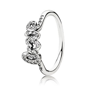 Pandora Ring LOVE van CZ 190928CZ