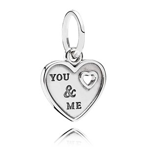 Pandora Hanger Hart YOU & ME 791430