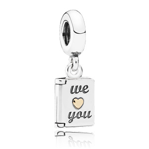 Pandora Hanger We Love You 791532
